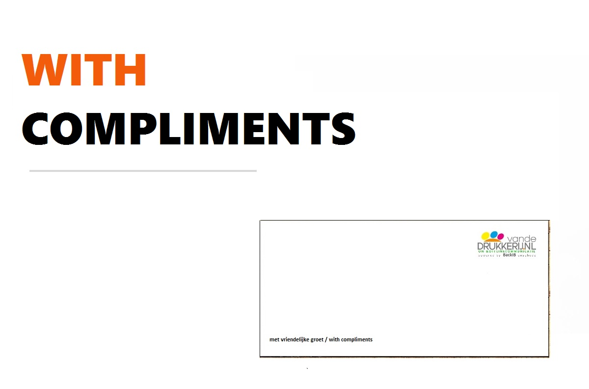 With complimentcards